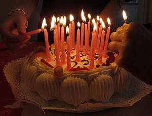 Birthday Cakes With Candles - Birthday