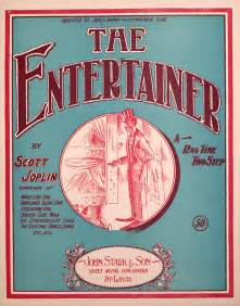 Image result for Scott Joplin The Entertainer