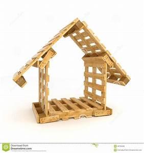 Palette De Bois : construction en palette de bois maison design ~ Premium-room.com Idées de Décoration