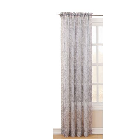 Light Filtering Privacy Curtains by Shop Style Selections 84 In L Light Filtering Blush Rod