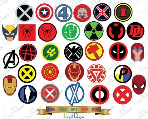 Marvel Superhero Logo Svg Marvel Svg Symbol Superheroes Svg