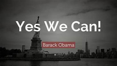 Obama Barack Yes Quote Wallpapers Quotes Quotefancy
