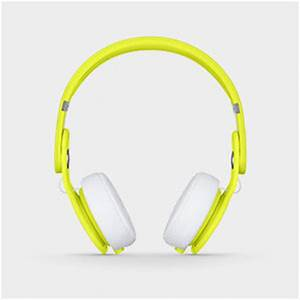 Beats Mixr Wired Ear Headphone Neon Yellow