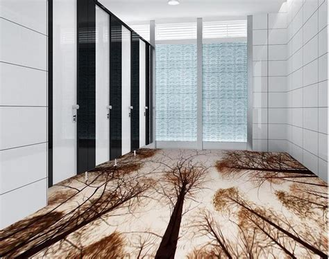 wallpaper waterproof bathroom floor living room woods