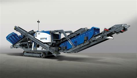 New Kleemann Cone Crushers Offer Fuel-efficient Operation