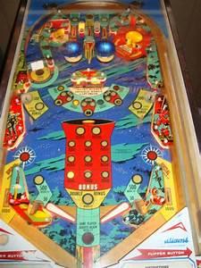 Space Mission pinball machine Williams on ebay   Vintage ...