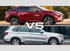2016 Lexus RX 350 vs 2016 BMW X5 YouTube