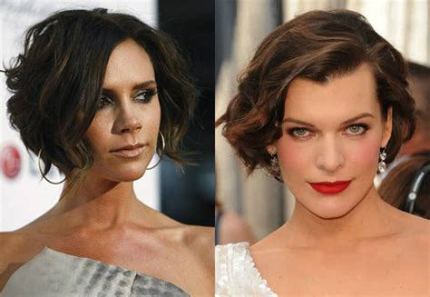 Pictures Of Curly Short Bob Hairstyles