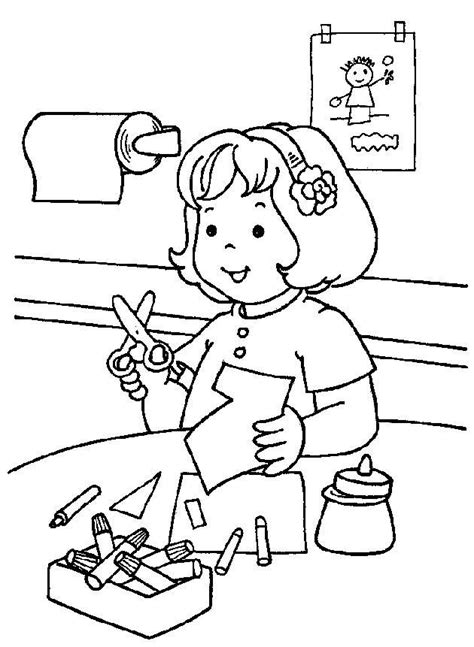 Best 25+ Free Printable Kindergarten Coloring Pages For