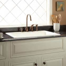 42 quot cast iron wall hung kitchen sink with drainboard kitchen