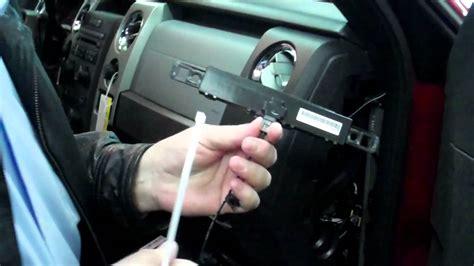 ford  remote start installation youtube