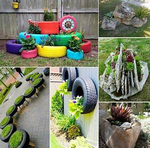 24 Creative Garden Container Ideas - DIY Craft Projects