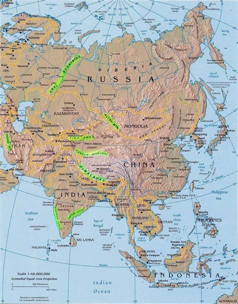 mountain ranges of asia landforms of asia lakes rivers and deserts of asia worldatlas