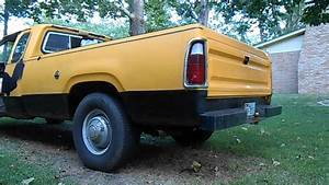 1976 Dodge D200 Pickup Exhaust