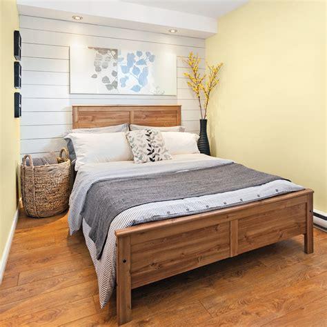 chambre avec lambris look nouveau chêtre dans la chambre chambre