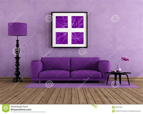 purple living room royalty  stock photography image