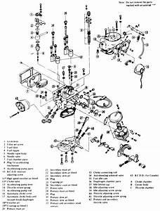 Nissan 1400 Carburetor Diagram