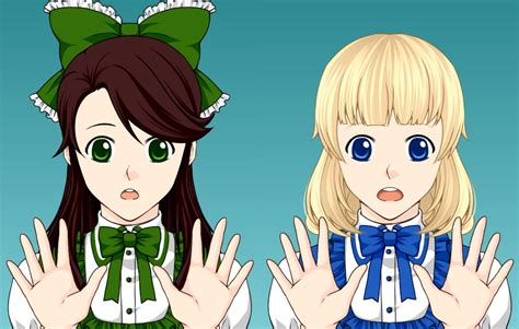 Sharon And Karen (mega Anime Avatar Creator Style) By