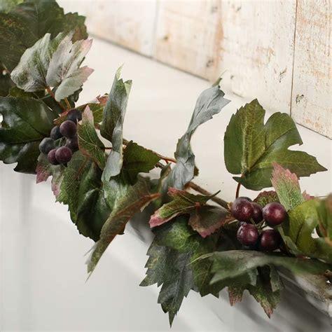 artificial grape leaf garland garlands floral supplies craft supplies