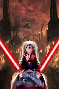 Jedi Temple Asajj Ventress and Darth Maul's's daughter ...