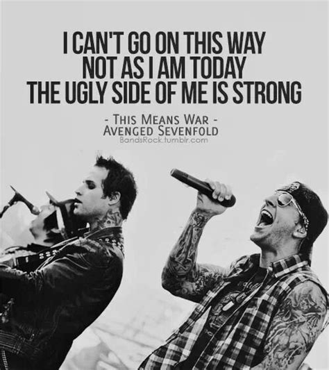 famous avenged sevenfold song quotes