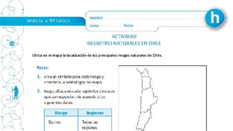 Desastres Naturales en Chile Curriculum Nacional