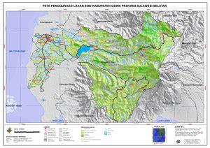 penggunaan lahan kabupaten gowa peta tematik indonesia