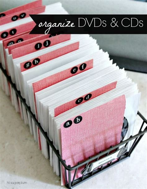dvd organization ideas creative diy cd and dvd storage ideas or solutions hative 3492