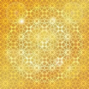 Ornamental pattern Vector abstract background Arabic