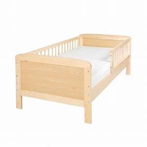 Barriere Lit Superposé : lit junior 140 cm x 70 cm en pin massif avec barri res ~ Premium-room.com Idées de Décoration