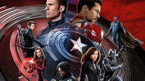 Wallpaper Captain America 3 Civil War, Iron Man, Marvel