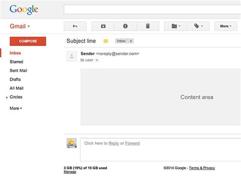 Email Templates Free Gmail by Gmail Ui Psd Template Freebiesbug