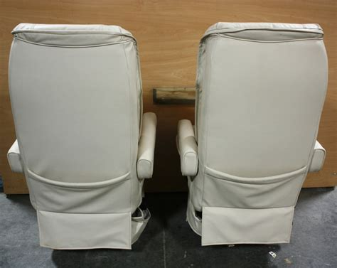 rv furniture used leather flexsteel rv captain chairs for