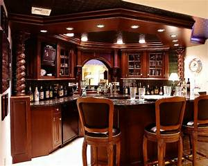 Man Cave & Bar - Traditional - Family Room - other metro
