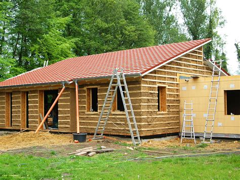 Holzkonstruktion Mit Einblasdaemmung by Gutex Referenz