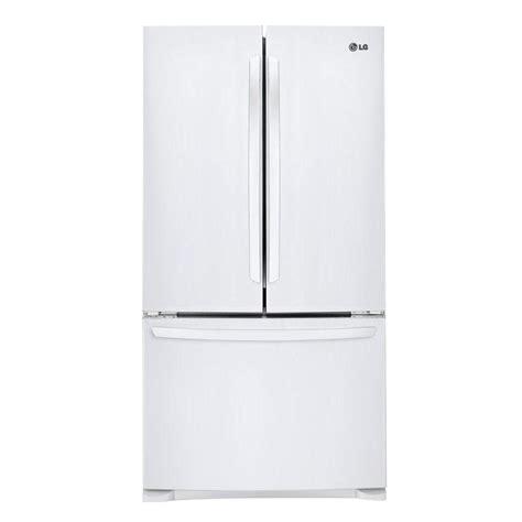 white door refrigerator lg electronics 28 cu ft door refrigerator in