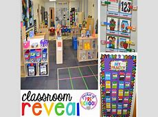 Classroom Reveal and a FREEBIE Pocket of Preschool