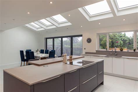 open plan kitchen living area  utility