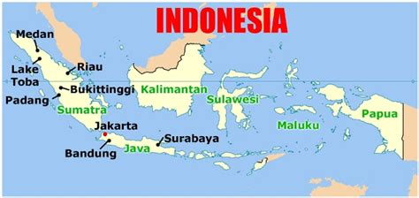 capital indonesia map