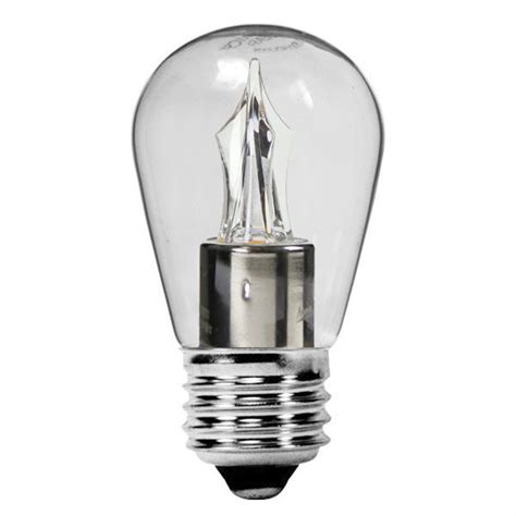 s14 light bulbs 2w led light bulb 2700k warm white clear