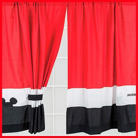 cortinas mickey juego de cortinas mickey mouse disney chiquimundo 669