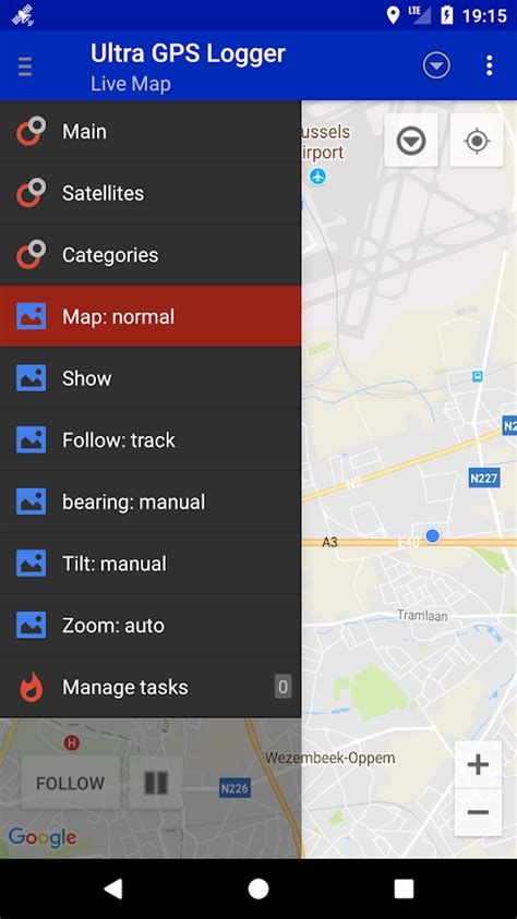 gps logger test ultra gps logger lite android apps on play