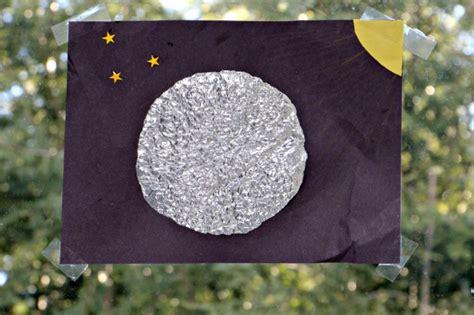 aluminum foil moon sensory craft s bundle 960 | moon foil craft
