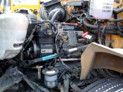school bus international diesel engine maxxforce  liter
