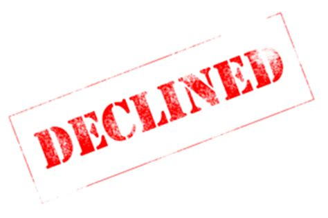 What To Do Next If You Have Been Declined For A Loan