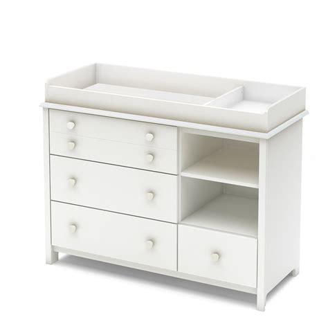 table a langer amovible south shore table 224 langer avec pourtour amovible et 233 tag 232 re avec tiroirs blanc solide