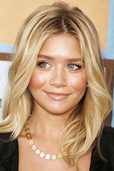 medium blonde hairstyles   faces blonde