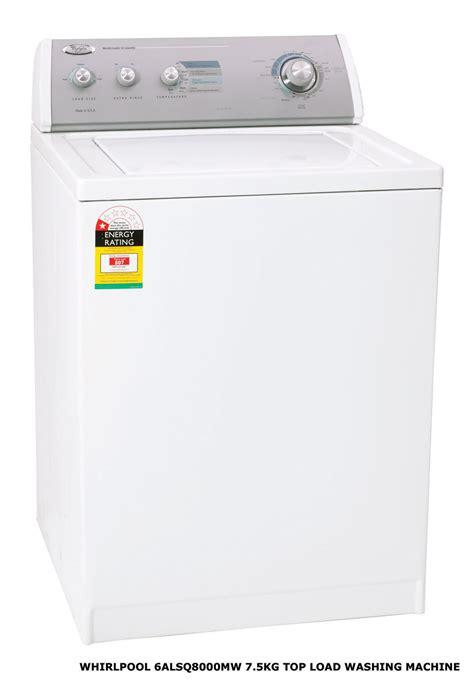 6alsq8000mw Whirlpool Washing Machine  The Electric