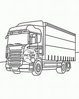 Coloring Truck Pages Box Transportation Drawing Nice Trucks Getdrawings Wuppsy Printables Tractor Dump Fire sketch template