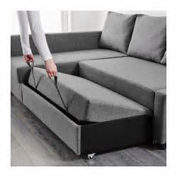 ikea sofa bett friheten corner sofa bed with storage skiftebo grey ikea